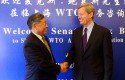 Sen. Max Baucus in China / AP