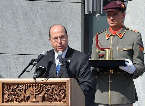 Israel's Defense Minister Moshe Ya'alon / AP