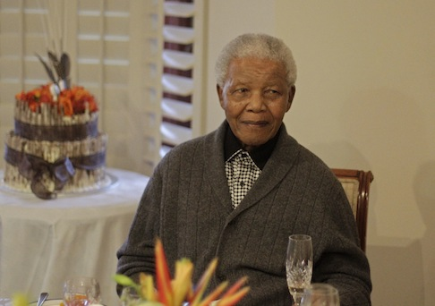 The late South African President Nelson Mandela / AP