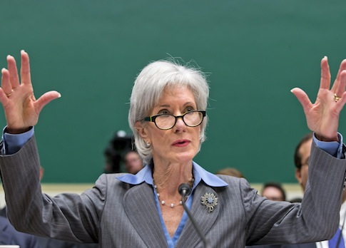 Health and Human Services Secretary Kathleen Sebelius / AP
