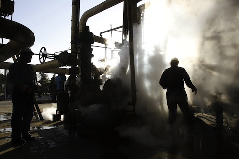 Oil refinery in Tehran, Iran / AP