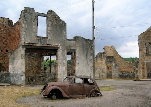 Oradour-sur-Glane was burned to the ground by the Nazis in 1944