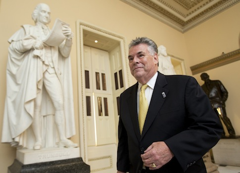 Rep. Peter King (R., N.Y.) / AP
