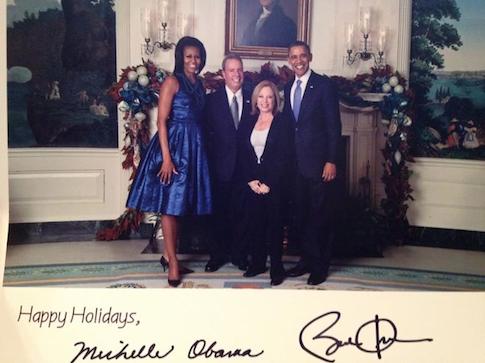 President Obama and Schmuck