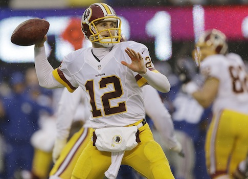 Washington Redskins quarterback Kirk Cousins / AP