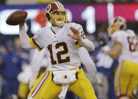 Washington Redskins quarterback Kirk Cousins / AP
