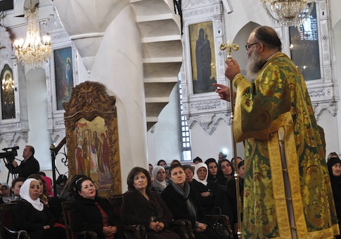 Syrian Christians persecuted