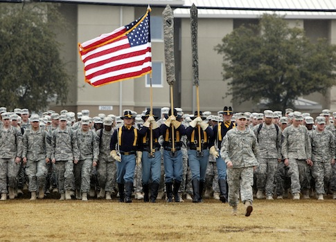 U.S. Army 1st Cavalry 3rd Brigade coming home from Iraq / AP
