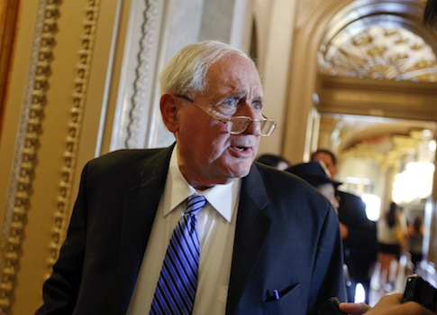 Senate Armed Services Committee Chairman Carl Levin