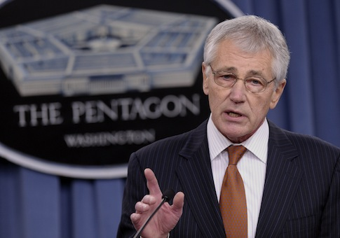Defense Secretary Chuck Hagel / AP