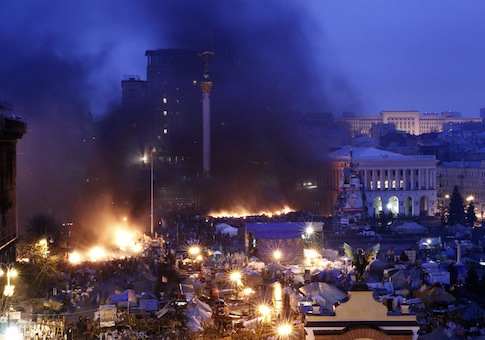 Kiev, Ukraine on Feb. 20 / Reuters