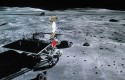 China's first moon rover Yutu, or Jade Rabbit / AP
