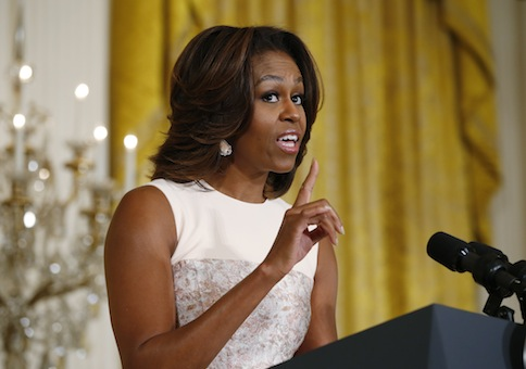 First lady Michelle Obama / AP