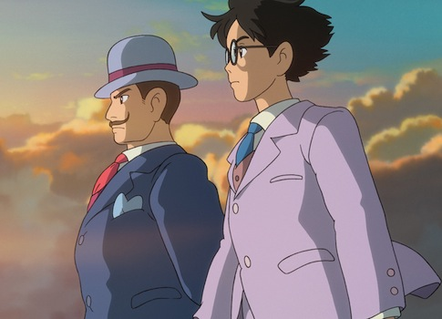 "a scene from the animated film, ""The Wind Rises."" / AP Photo"
