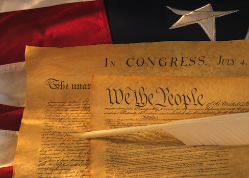 The U.S. Constitution and the Declaration of Independence / AP
