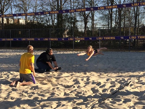 LSU Sand Volleyball Twitter