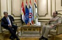 U.S. Secretary of State John Kerry, meets with Egyptian Gen. Abdel Fattah el-Sissi