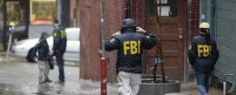 FBI raids in San Francisco / AP