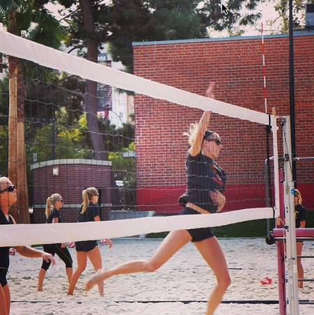 USC Sand Volleyball Instagram