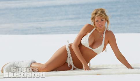 Kate snow in a bikini