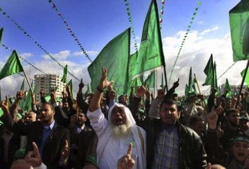 Hamas rally in Egypt / AP