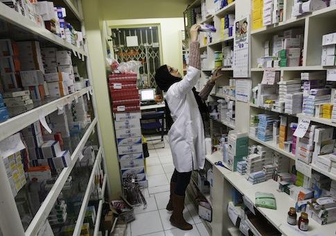 An Iranian pharmacist/AP