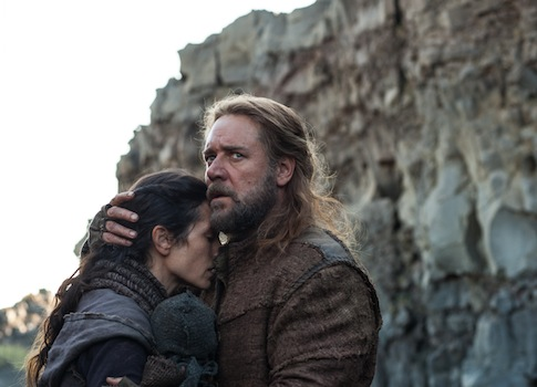 "Jennifer Connelly and Russell Crowe in a scene from ""Noah"" / AP"
