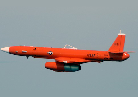 Raytheon MQM-107 Streaker target drone / Wikimedia Commons
