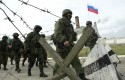 Russian troops outside of  Simferopol /Reuters