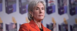 HHS Secretary Kathleen Sebelius speaks at anti-smoking event / AP