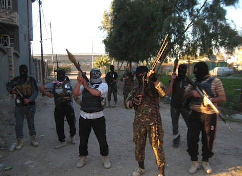 Al Qaeda affiliated militants in Iraq / AP