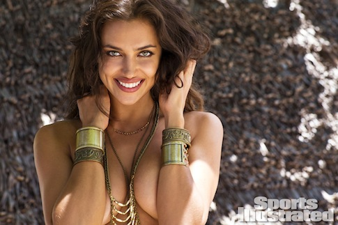 Irina doing what comes natural/Sports Illustrated
