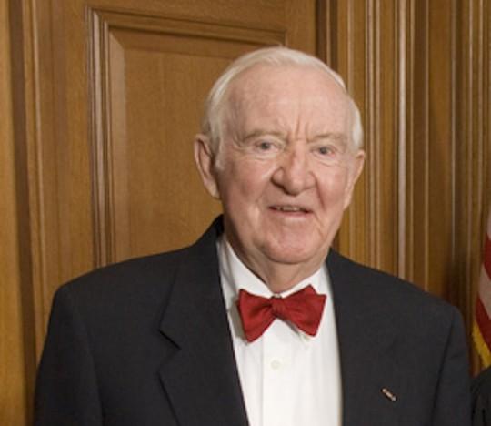 Former Supreme Court Justice John Paul Stevens