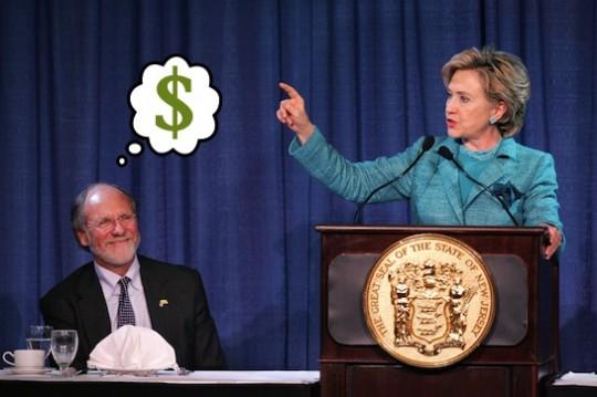 Disgraced financial tycoon Jon Corzine is Ready for Hillary.