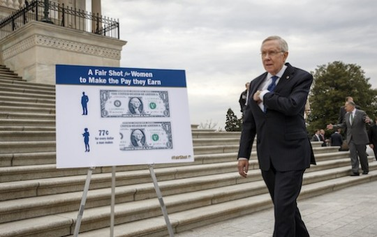 Harry Reid pockets another huge check from trial lawyers seeking #higherpay / AP