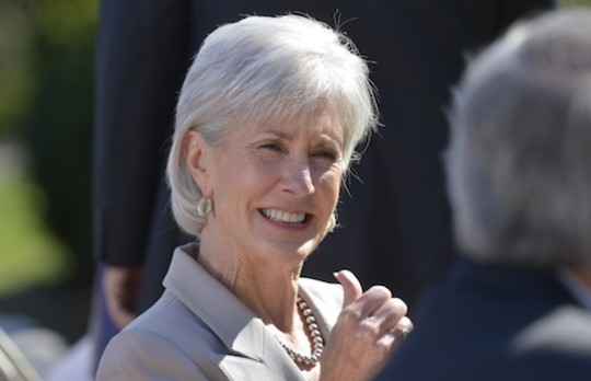 Health and Human Services Secretary Kathleen Sebelius. (AP)