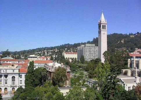 Berkeley's campus / Wikimedia Commons