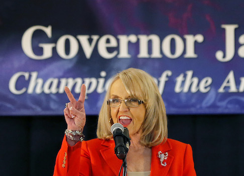Arizona Gov. Jan Brewer / AP