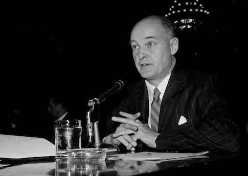 George F. Kennan, former ambassador to Moscow  / AP