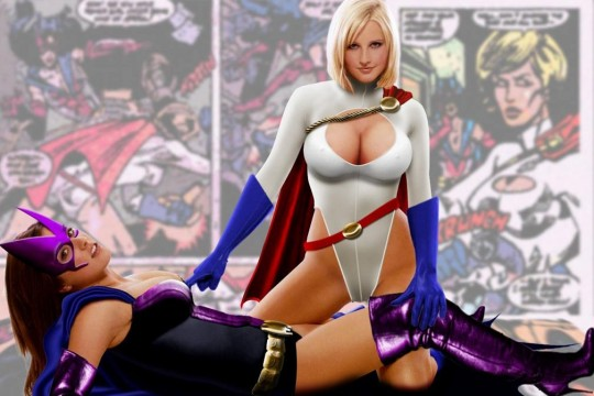 Huntress-With-Power-Girl