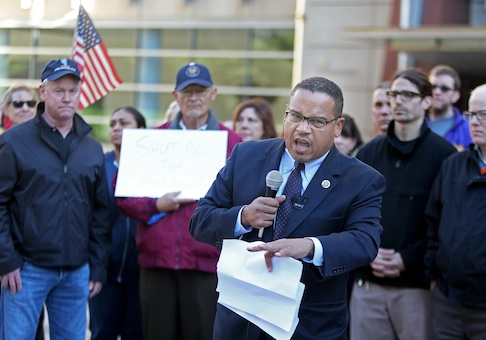 Rep. Keith Ellison (D., Minn.) / AP