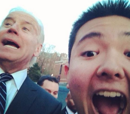 The best Joe Biden #SELFIE