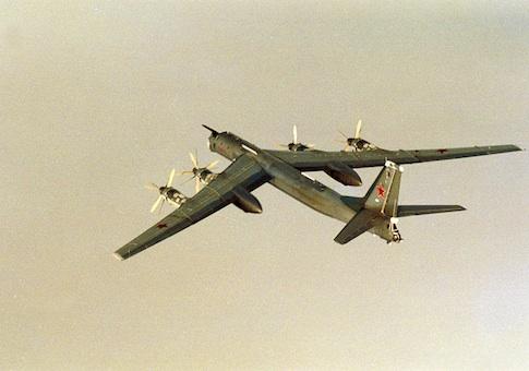 Russian TU-95 Bear H