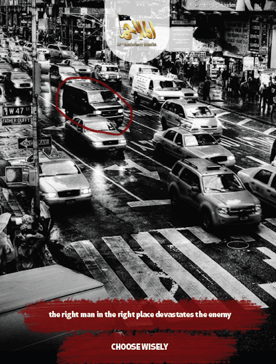 Al Qaeda's lastest magazine calls for car bombs in DC