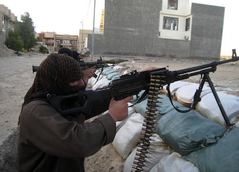 Al-Qaida-linked fighters in Fallujah, Iraq / AP