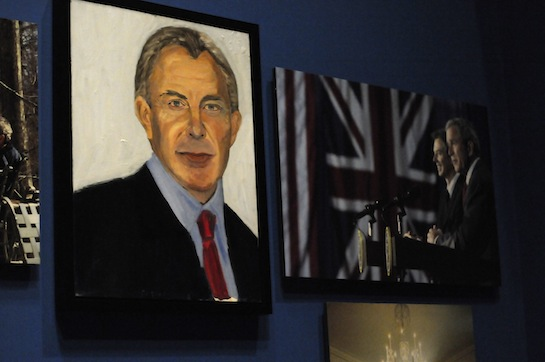 """""""I liked him when I was President. I liked him when I was painting him."""""""