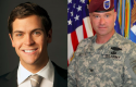 Facebook spouse Sean Eldridge (left) is trying to unseat former Army officer Chris Gibson.
