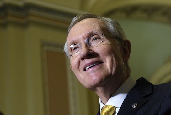 Harry Reid is the main cause of eagle deaths in America. (AP)