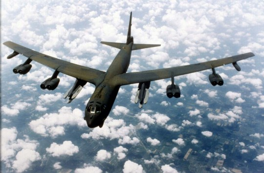 B-52 bomber (AP)