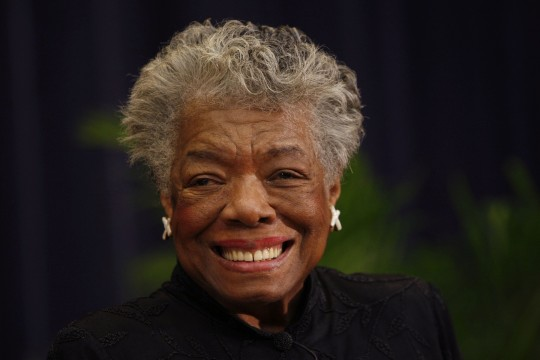 Maya Angelou (AP)